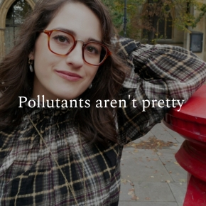 Pollutants aren't pretty
