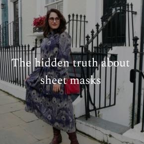 The hidden truth about sheetmasks