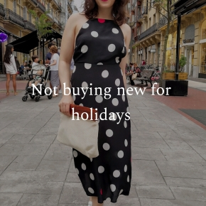 Not buying new for holidays