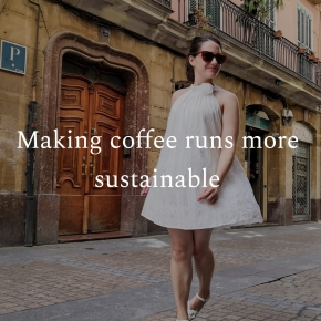 Making coffee runs more sustainable
