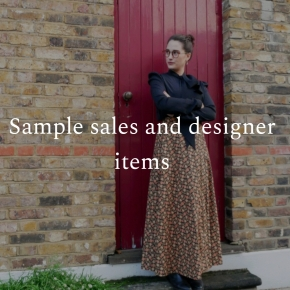 Sample sales and designer items