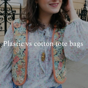 Plastic vs cotton tote bags