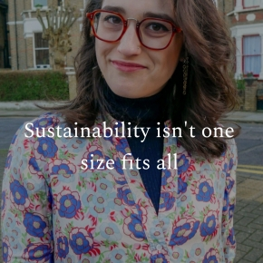 Sustainability isn't one size fitsall